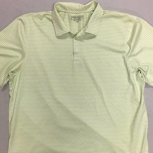 VINEYARD VINES Striped Polo Button Casual Shirt